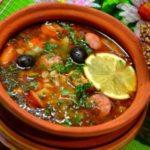 Суп солянка рецепт классический