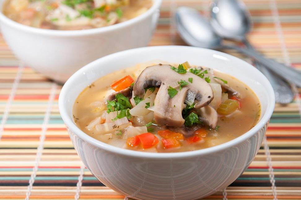 Суп грибной из свежих грибов
