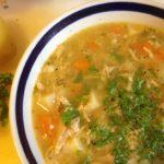 Суп из курицы с вермишелью рецепт