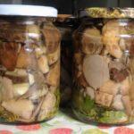 Грибы маринованные на зиму рецепт